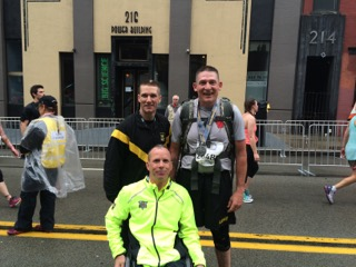 28th ID CSM, SMA and Dr Cooper Pittsburgh Marathon