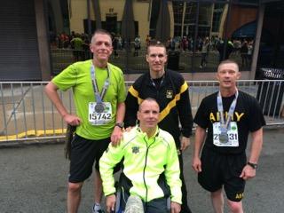 316th Leaders, SMA and Dr. Cooper Pitt Marathon
